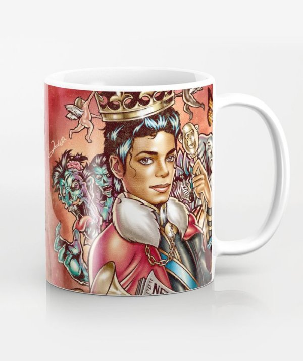 Caneca King Of Pop - Michael Jackson