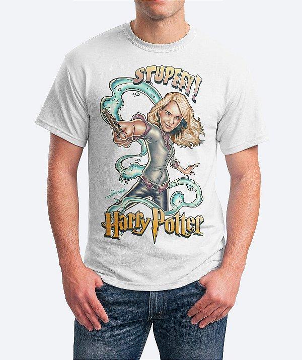 Camiseta Stupefy - Harry Potter