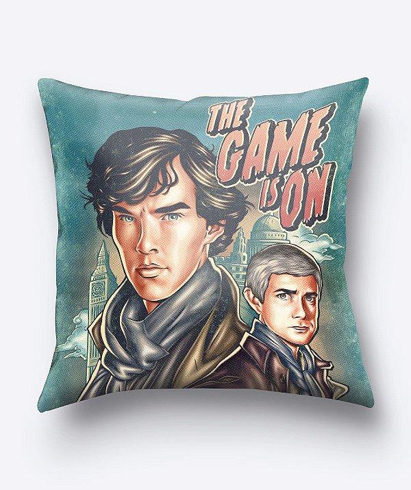 Almofada The Game Is On - Sherlock