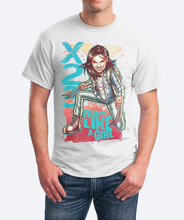 Camiseta Fight Like A Girl - X23