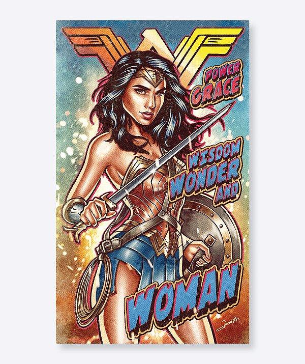 Poster Wonder Woman - Mulher Maravilha