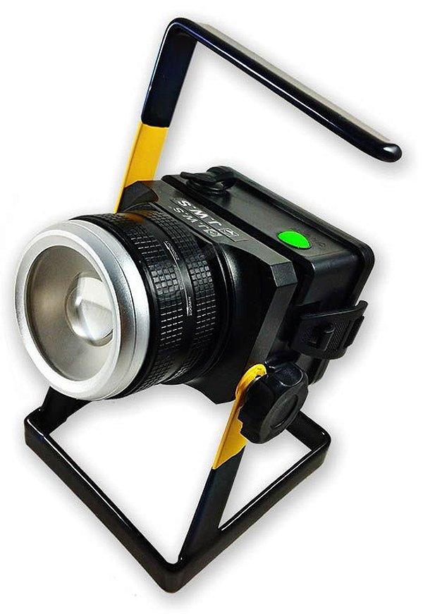 Holofote Refletor Tático Com Ajuste de Zoom e Foco Direcionável de Longo Alcance LED Cree XML T6 L2