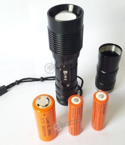 Lantena Tatica Profissional Police Monster Com 3 Baterias!