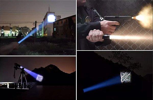 Lanterna X9000 Original Tática Militar Com Zoom Bateria 26650 + 2 Baterias de brinde