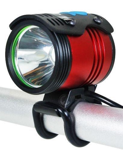 Farol Para Bicicleta Profissional Thunder 860.000 Lumens Bateria de 6 Células Até 8hs de Duração