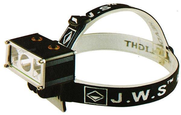 Lanterna de Cabeça Alert 905.000 Lumens Com 1 LED T6 + 4 LEDs R5 Azul e Vermelho - Veja o vídeo
