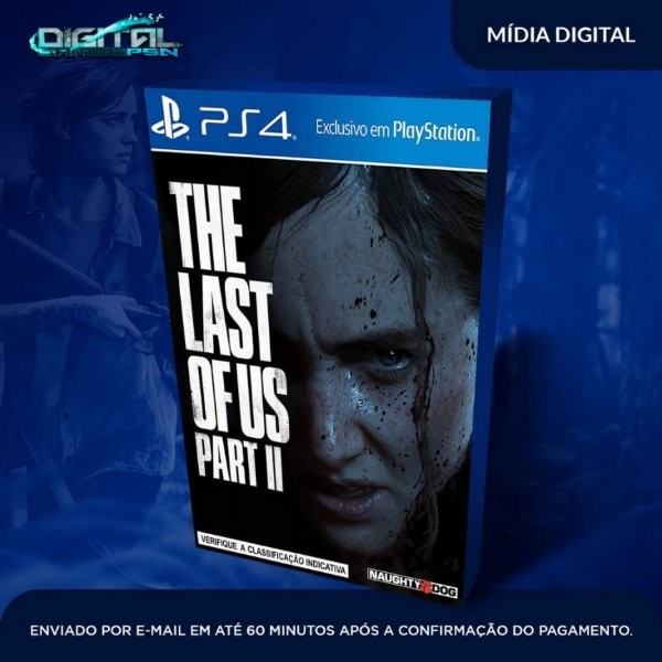 The Last Of Us ll Ps4 Psn Mídia Digital (secundária)