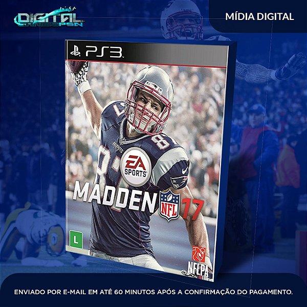 Madden NFL 17 Mídia Digital PS3