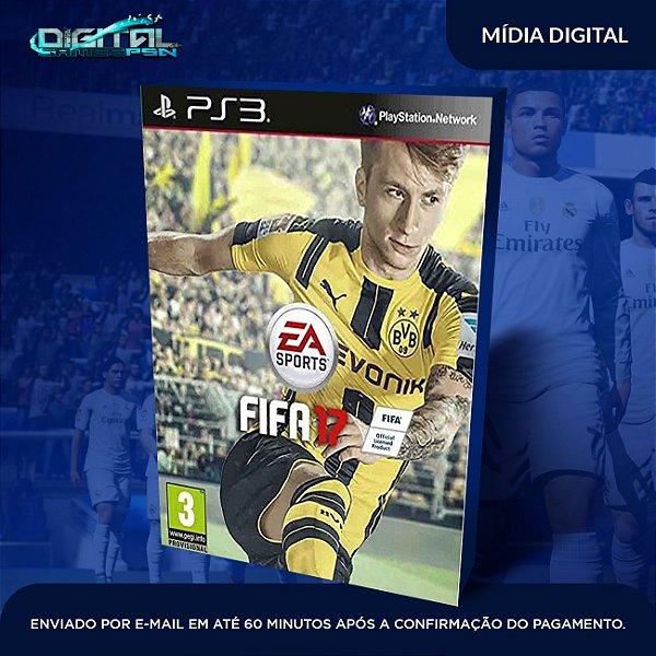 FIFA 17 PS3 Mídia Digital Dublado em pt br envio imediato