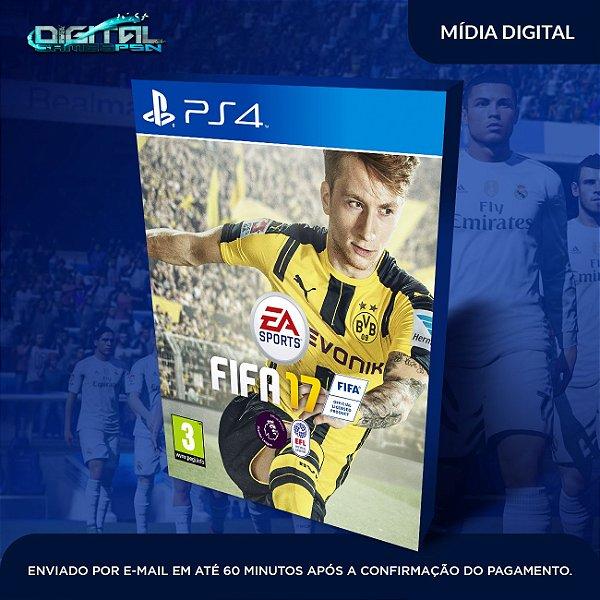 FIFA 2017 PS4 Mídia Digital