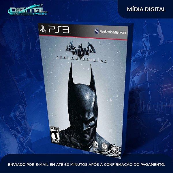 Batman: Arkham Origins - Ps3 Mídia Digital