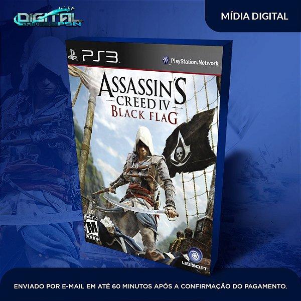 Assassin's Creed Iv Black Flag - PS3  Game Digital