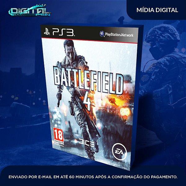 Battlefield IV Ps3 Mídia Digital