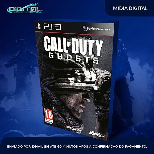 Call Of Duty Ghosts PS3 Mídia Digital
