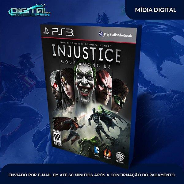 Injustice Gods Among Us Ps3 Mídia Digital