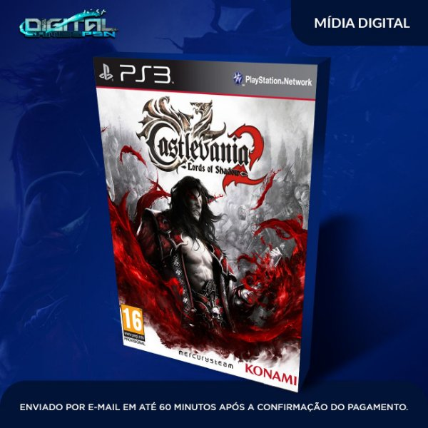 Castlevania Lords Of Shadow 2 Mídia Digital