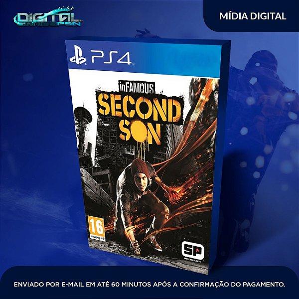 Infamous Second Son Ps4 Mídia Digital