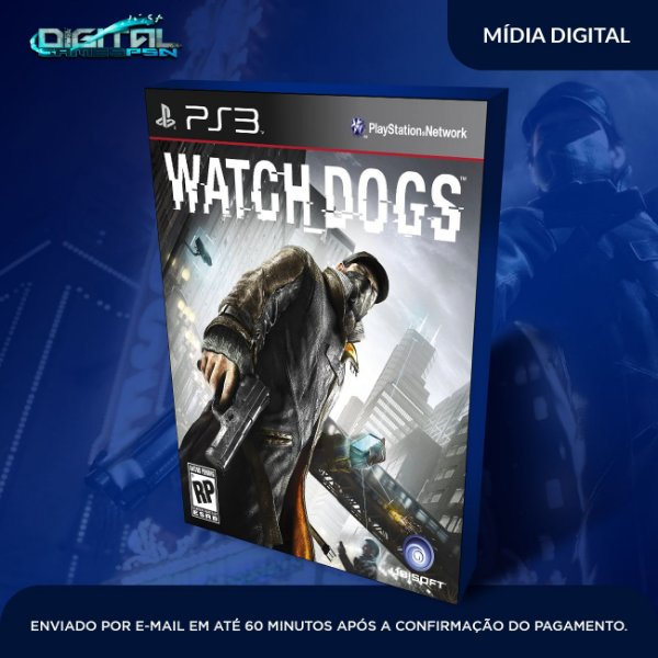 Watch dogs Ps3 Mídia Digital