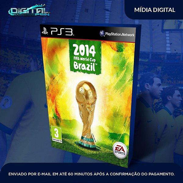 Fifa World Cup Brazil 2014 Ps3 Mídia Digital
