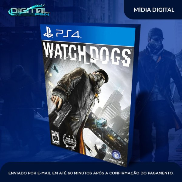 Watch dogs Ps4 Mídia Digital