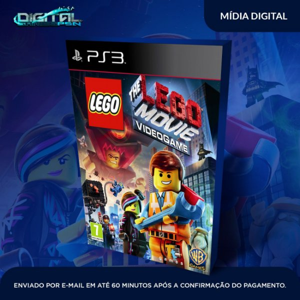 Lego The Movie Ps3 Mídia Digital