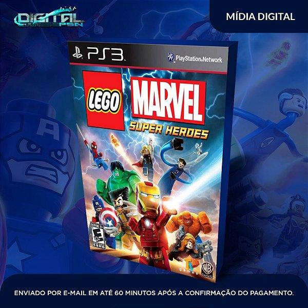 Lego Marvel Super Heroes PS3 Mídia Digital