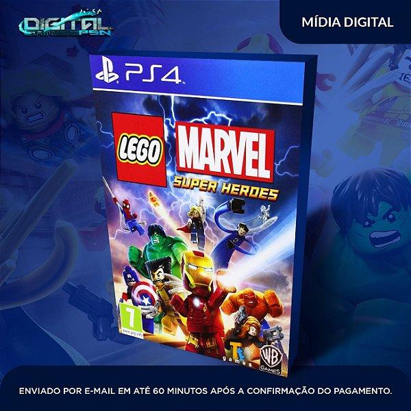 Lego Marvel Super Heroes Ps4 Mídia Digital