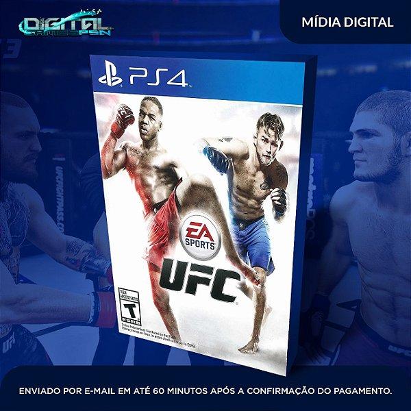 Ea Sports Ufc Ps4  Dublado em pt br Mídia Digital