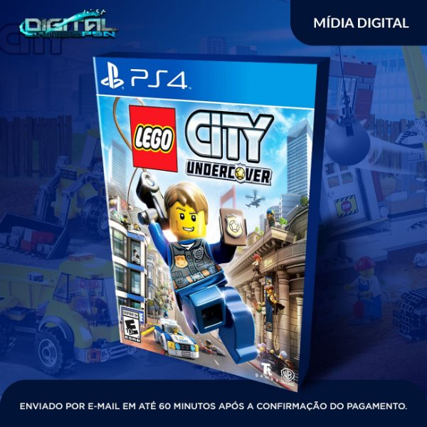 LEGO CITY Undercover ps4 midia digital