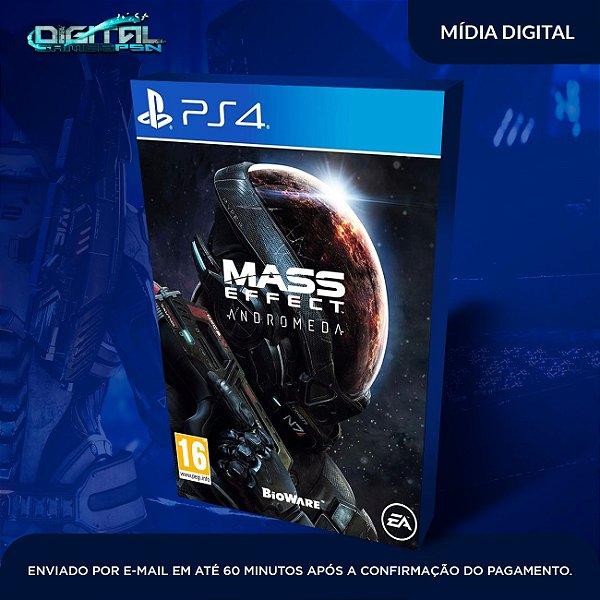 Mass Effect: Andromeda ps4 midia digital