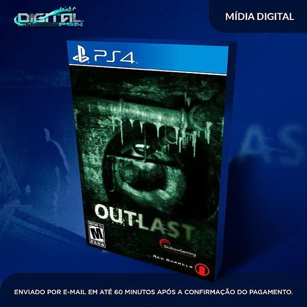 Outlast PS4 Mídia Digital