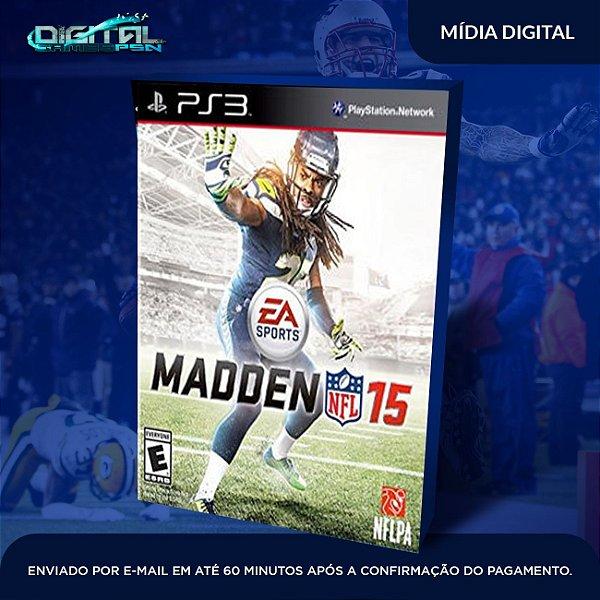 Madden NFL 15 Ps3 Mídia Digital