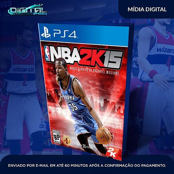 NBA 2K15 Ps4 Mídia Digital