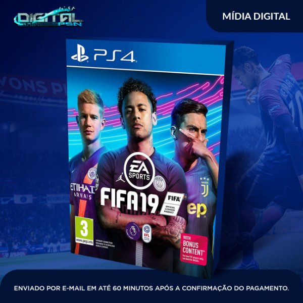 FIFA 2019 | Fifa 19 Ps4 psn digital | dublado em pt br | envio imediato