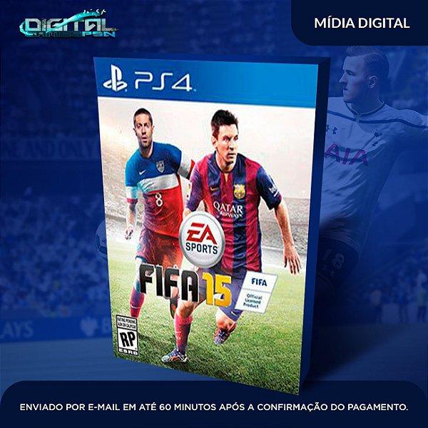 Fifa 15 Pt Br Ps4 Game Digital