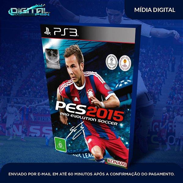 Pro Evolution Soccer 2015 Ps3 Mídia Digital