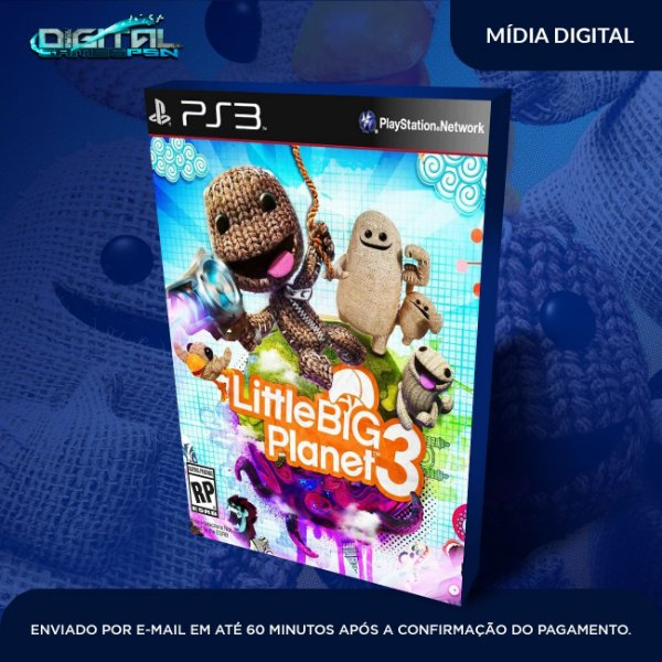 LittleBigPlanet 3 Mídia Digital Ps3