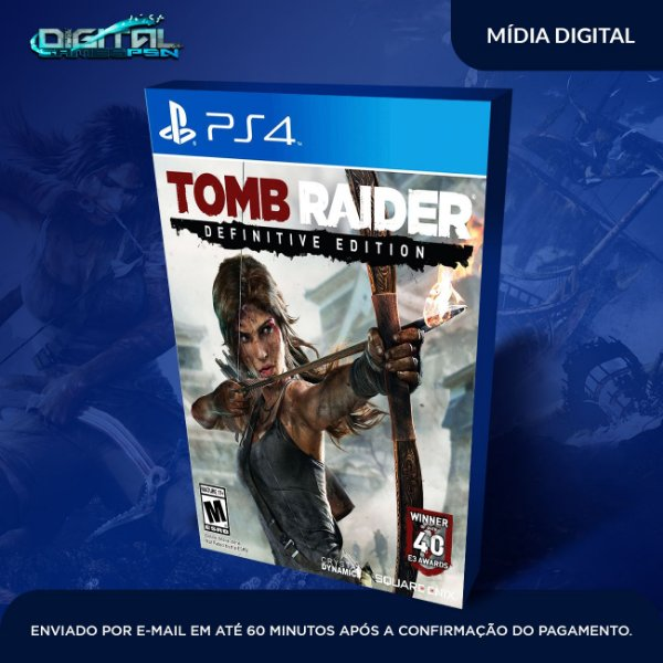 Tomb Raider Definitive Edition Ps4 Mídia Digital
