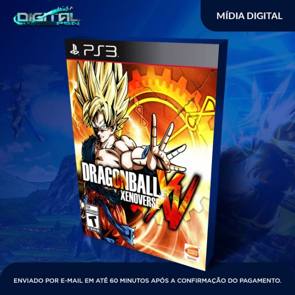 Dragon Ball Xenoverse Ps3 Mídia Digital