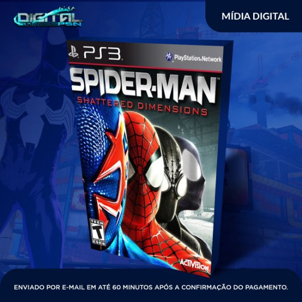 Spider Man: Shattered Dimensions Ps3 Psn Mídia Digital