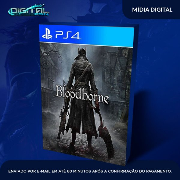 Bloodborne Ps4 em pt br Mídia Digital