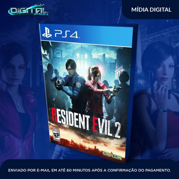 Resident Evil 2 -  Single editions  E Deluxe edition- Sistema Primário Original 1