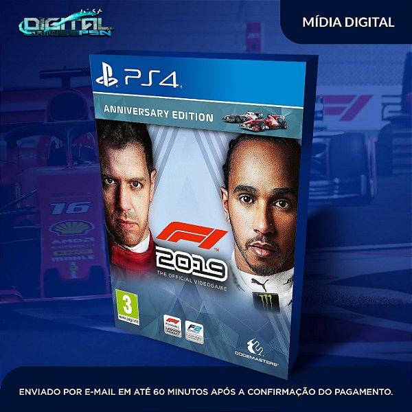F1 2019 Formula 1 2019  PS4  Pt br Game Digital