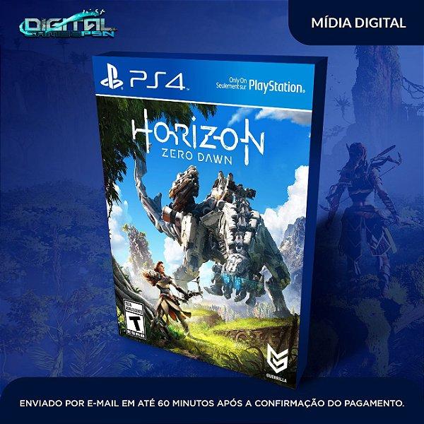 Horizon Zero Dawn Ps4 Mídia Digital