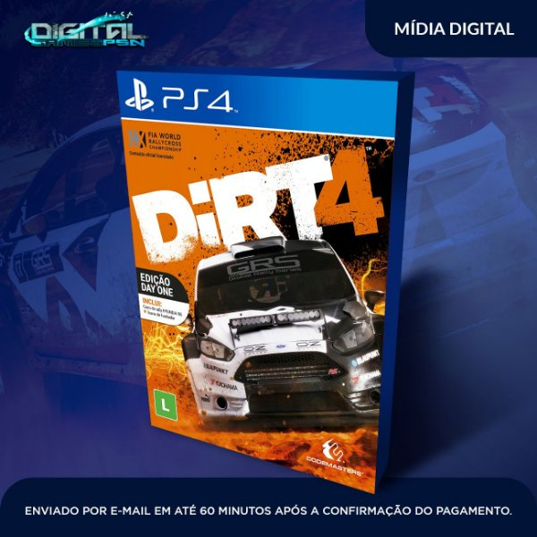 Dirt 4 Ps4 Game Digital