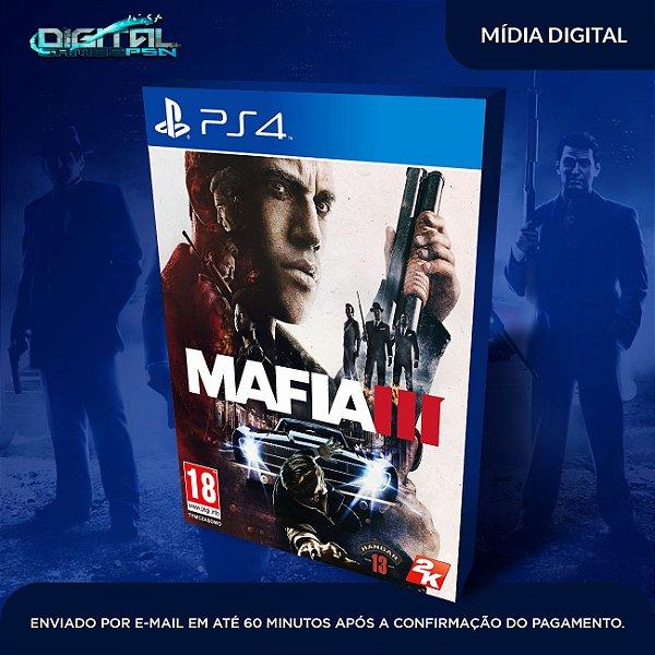 Mafia 3 Ps4 Mídia Digital
