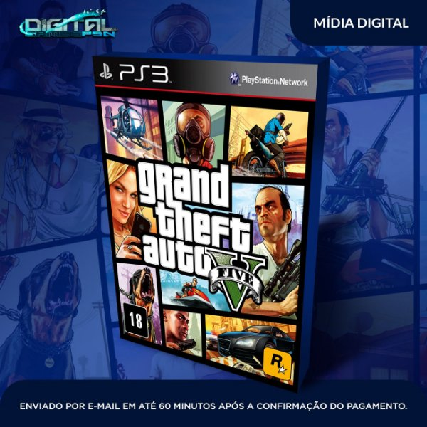 Grand theft auto 5 PS3 Game Digital