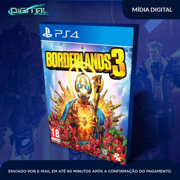 Borderlands 3 Ps4 Game Digital