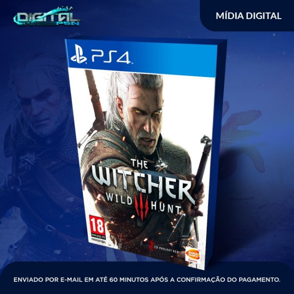 The Witcher 3: Wild Hunt Ps4 Mídia Digital
