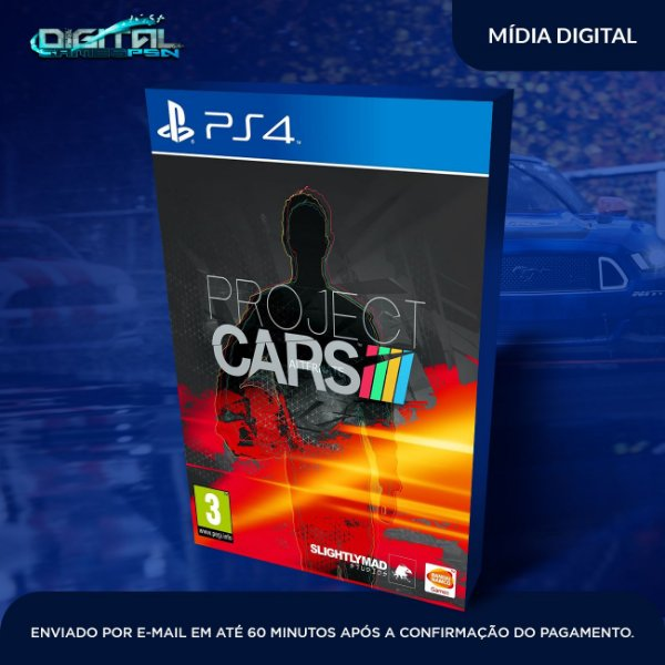 Project CARS Ps4 Mídia Digital